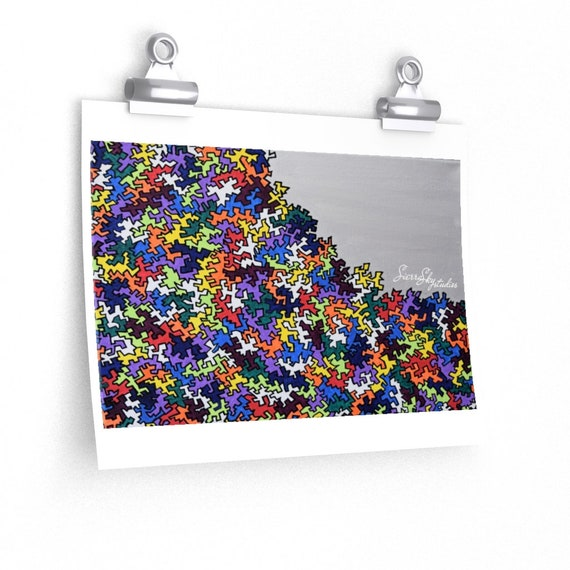 Puzzling High Quality Print; Photography Print; Poster