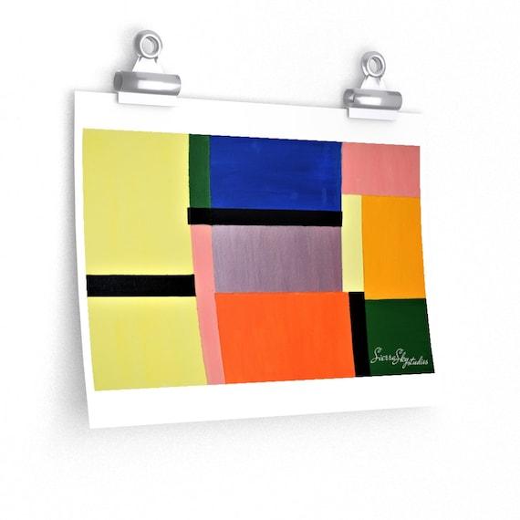 1965 High Quality Print; Art Print; Poster; High Quality Mate Finish Print
