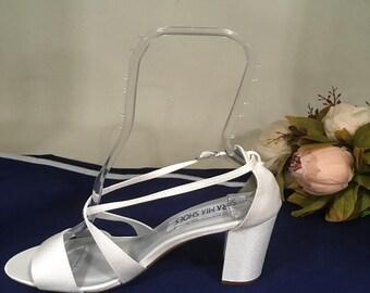 fe31fa02ec9355 Wedding Dyeable shoes