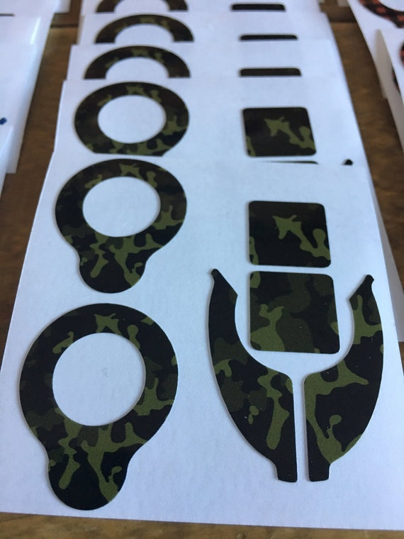 Camo Vinyl Cochlear N6 and N7 Skins