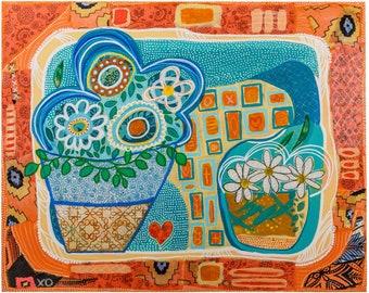 Orange Heart - Fine Art Print - Signed Print - Mother's Day - Gift