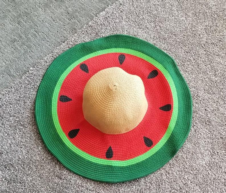 d33fdc7e Watermelon Hat | Etsy