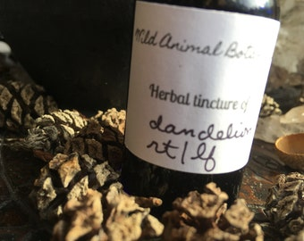 Dandelion Root/leaf Ticture wild crafted herbs