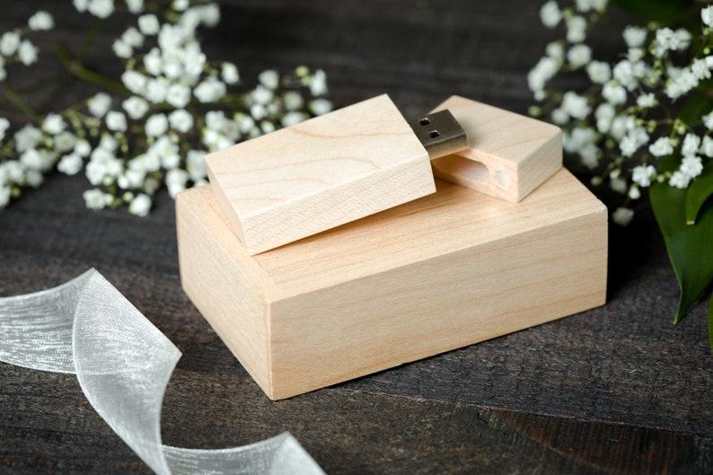 16gb or 32gb Wedding USB Drive With Box Arrow Wedding usb Thumb Drive Wedding Photo usb Personalized Wood USB Wooden usb Arrow USB Box