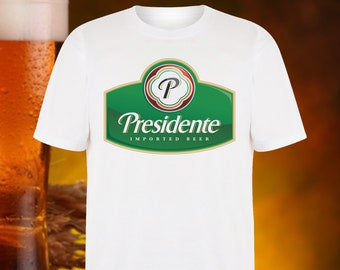f71cfa8e PRESIDENTE BEER T Shirt by Beer Planet DOMINICAN Republic Santo Domingo  National Beer Brewery Pilsner Carribean Panama Beer Planet Shirt