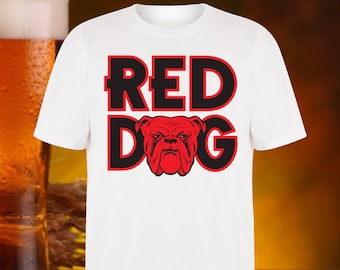 2442b39c RED DOG BEER T Shirt by Beer Planet Bulldog French Micro Brewery Ipa Craft  Beer Planet Shirt