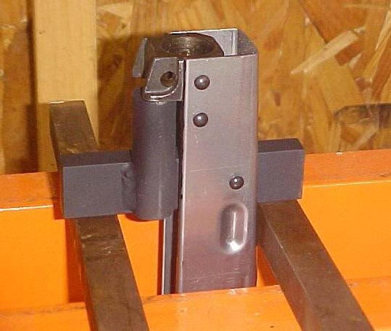 AK47 FRONT TRUNNION Press Support TOOL AK74 /// rifle build kit building  tools barrel receiver rivets ak 47 ak 74 surplus trigger guard