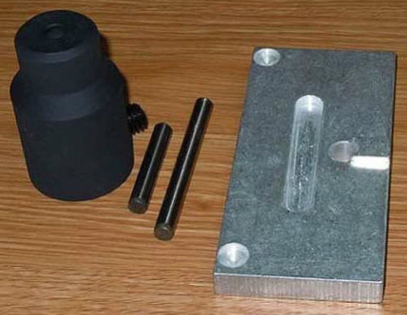AK47 / AK74 BARREL PIN PRESS Build Tool With Support Plate /// ak 47 ak 74  rifle kit building tools trunnion trigger receiver rivets