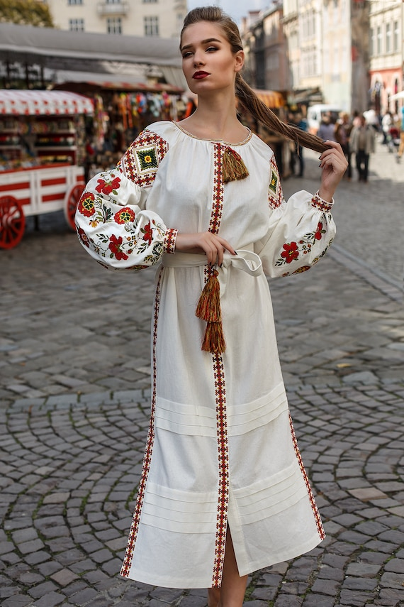 Dress Embroidered Ukrainian Dress Women Dress dress Ukrainian Vyshyvanka ZwxwqFrtEP