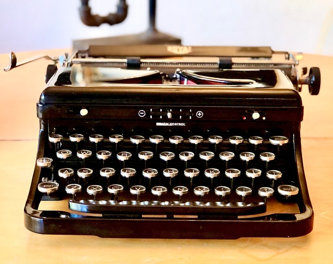 Featured listing image: 1937 Royal Portable Standard Model O, Working Manual Typewriter