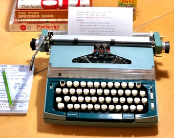 1970 Penncrest (SCM) CARAVELLE 12, Working Manual Typewriter
