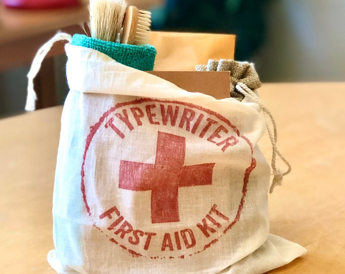 Featured listing image: TYPEWRITER FIRST AID Kit * Complete Basic Care for Manual Typewriters *