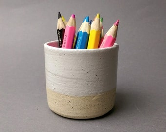 Handmade ceramic mini pot