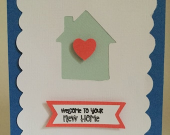 Welcome to your new Home card-Blank interior