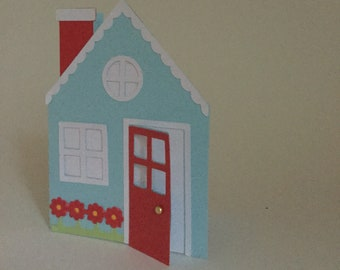 Home Sweet Home Card - Blank inside