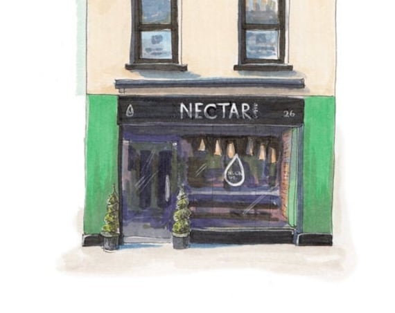 "Nectar Coffee shop, Parnell place, Cork city Cork 5""x7"""