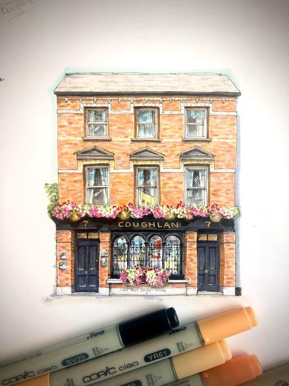 """7"""" x7"""" Coughlan's, Douglas Street, Cork"""