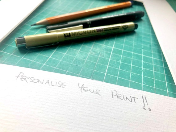 PERSONALISE YOUR PRINT