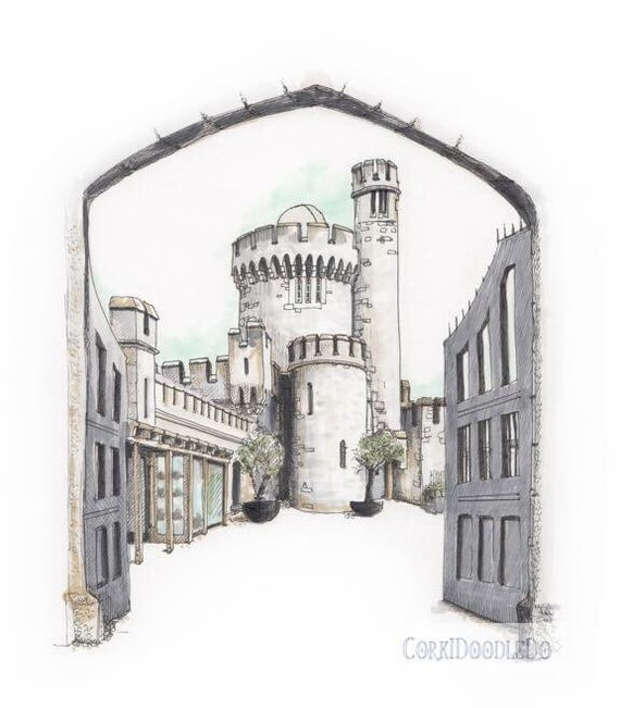 "Blackrock Castle, Cork. 12""x10"""