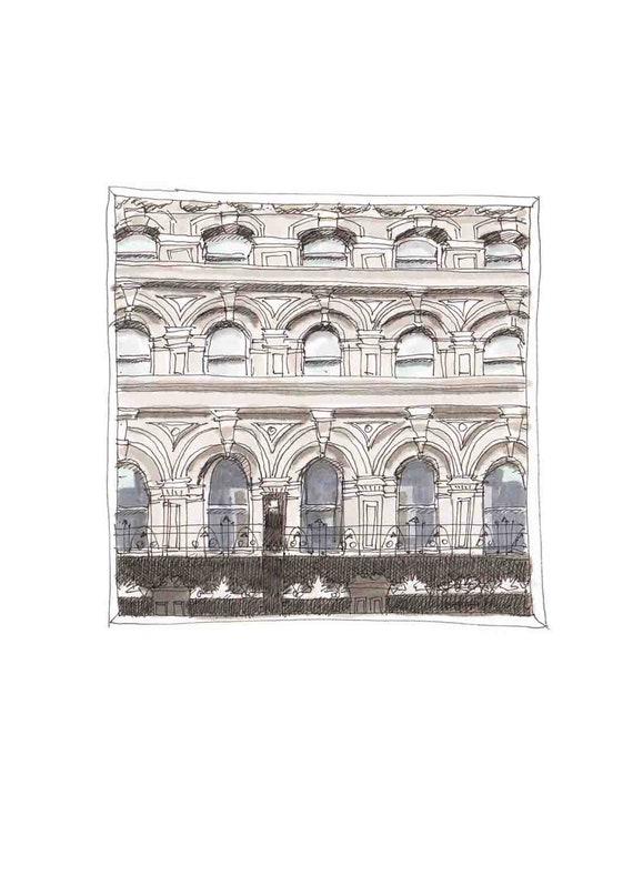 "Oliver Plunkett street Window, Keane's Jewellers. Cork city, Cork7""x7"""