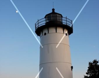 Lighthouse at dusk, Martha's Vineyard, Massachusetts, USA
