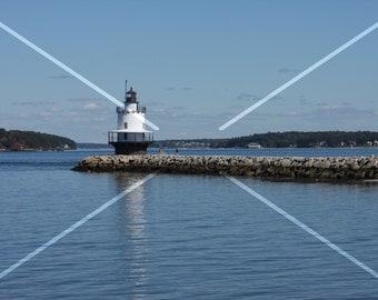 Lighthouse, Maine, USA