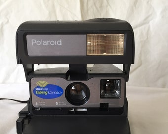 Vintage Polaroid One Step Talking Camera