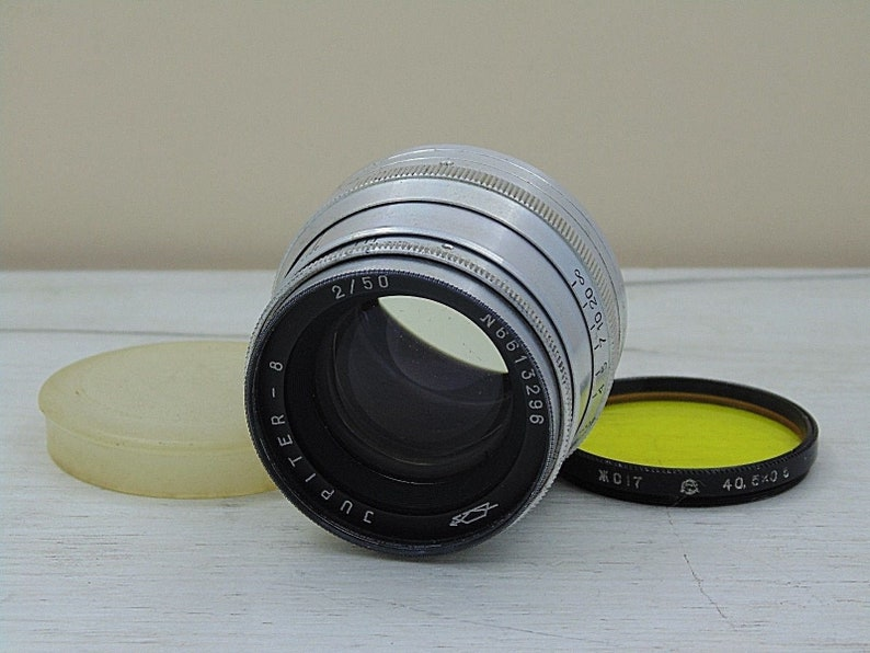 JUPITER 8 lens 50mm f/2 for camera FED ZORKI leica soviet lens m39