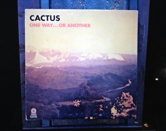 Cactus One Way or Another NM-Record Album