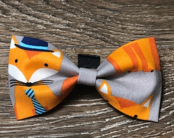 Dapper Fox Bow Tie / Collar Bow Tie