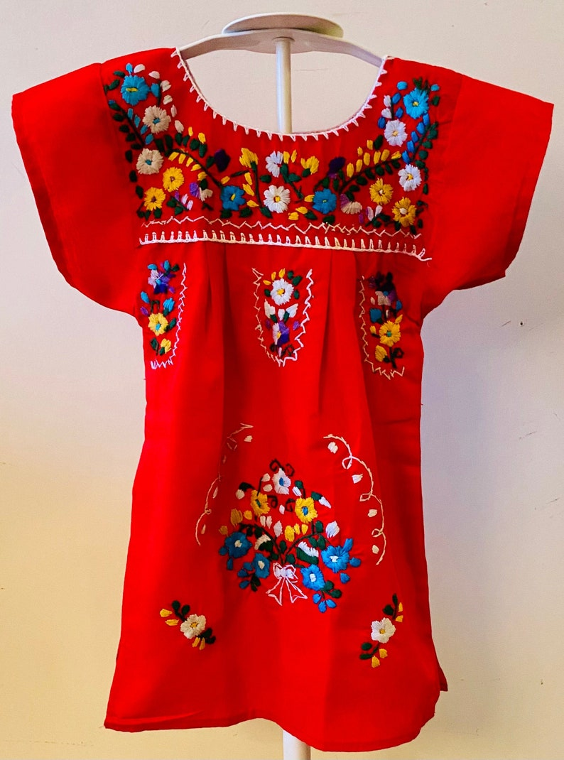 frida kahlo dress birthday dress toddler dress embroidered dress party dress for kids coco dress Mexican dress little girls dress