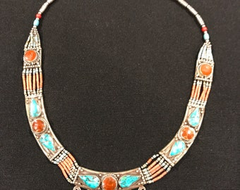 Vibrant Statement Necklace