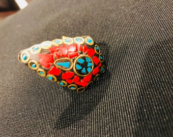 Colorful, Antique-Style Ring