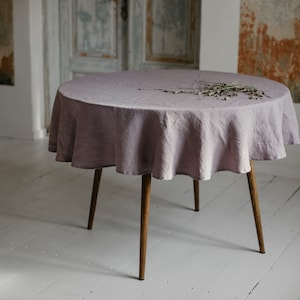 Round Table Cloth Etsy