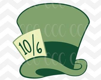 Mad Hatter Hat Etsy