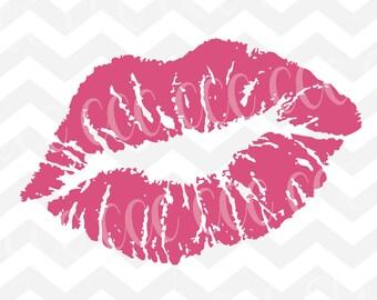 Lipstick Svg Cutting File Etsy