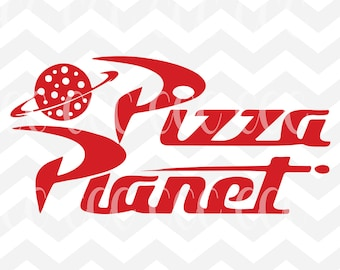 Pizza Planet SVG Cutting File