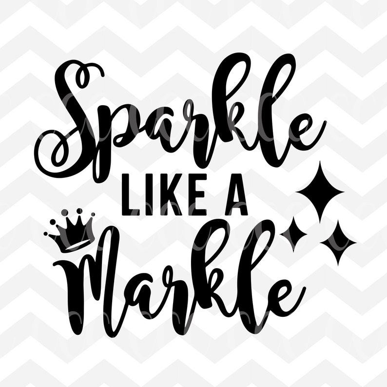 c398fcf3bc Sparkle Like A Markle The Royal Wedding Inspired SVG