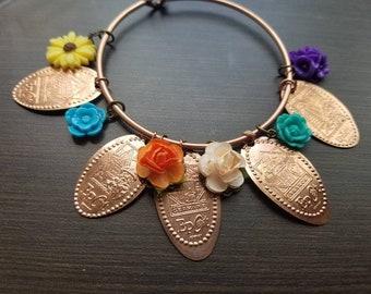Epcot Flower & Garden Bracelet