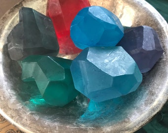 Large Crystal Soaps