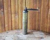 Old Bronze Mill, Vintage Bronze Mill, Ancient Bronze Mill, Bronze Mill, Bronze Melon for Black Pepper, Bronze Coffee Grinder, Gift Idea