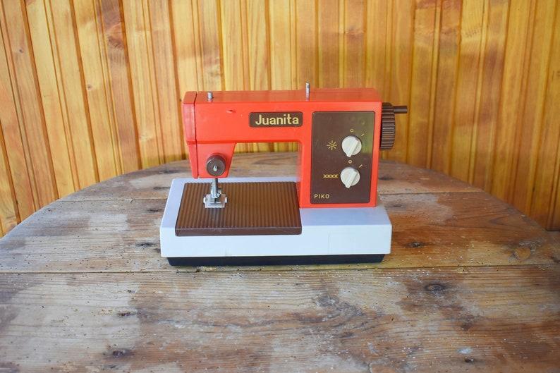 Sewing Machine Toy Sewing Machine Children Sewing Machine Nursery Decor Sewing Room Decor Piko Sewing Machine Yuanita Germany Gift