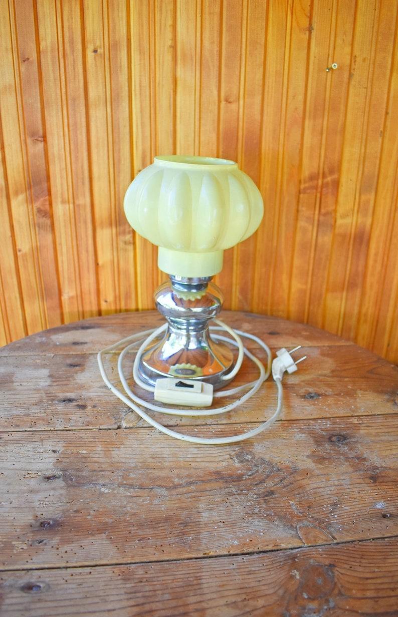 Electric Nuit 70Vintage Année Lampe LampBureauBureau AncienneVintageChevetRétro De KTFclJ1