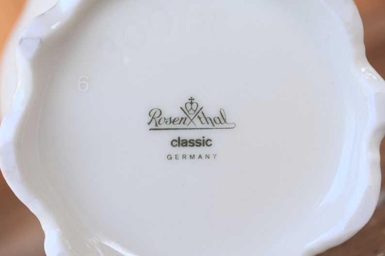 Small Porcelain Vase Table Decor Vintage Kitchen Decor Vintage porcelain Vase Vintage Home Decor Vintage gift Small German vase