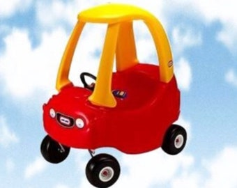 New Little Tikes Tykes Cozy Coupe Decals Stickers CUSTOM
