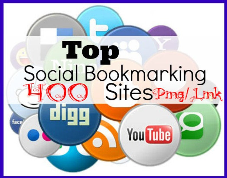 add Ping /link to your site 400 link Social BOOKMARK to premium quality  /seo for your shop backlinks bookmark /seo for blog site /smo /smm