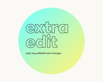 Extra Edit on a filter listing / PLEASE READ DESCRIPTION