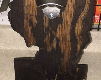Custom Wooden Bottle Openers