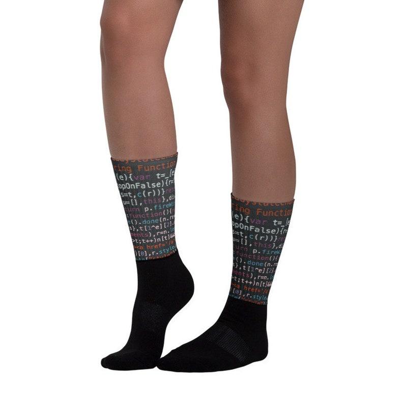 Source Code Socks Programmer Gift
