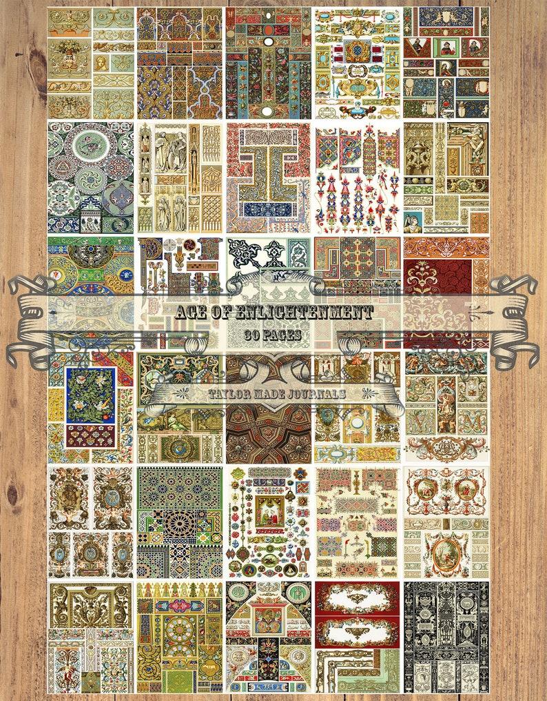 Age of Enlightenment Junk Journal Digital Kit -30 Page 8.5x11 Medieval Junk Journal Kit Renaissance Printable Renaissance Journal Kit